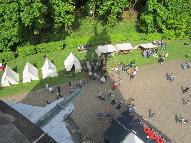 Camp seen from above